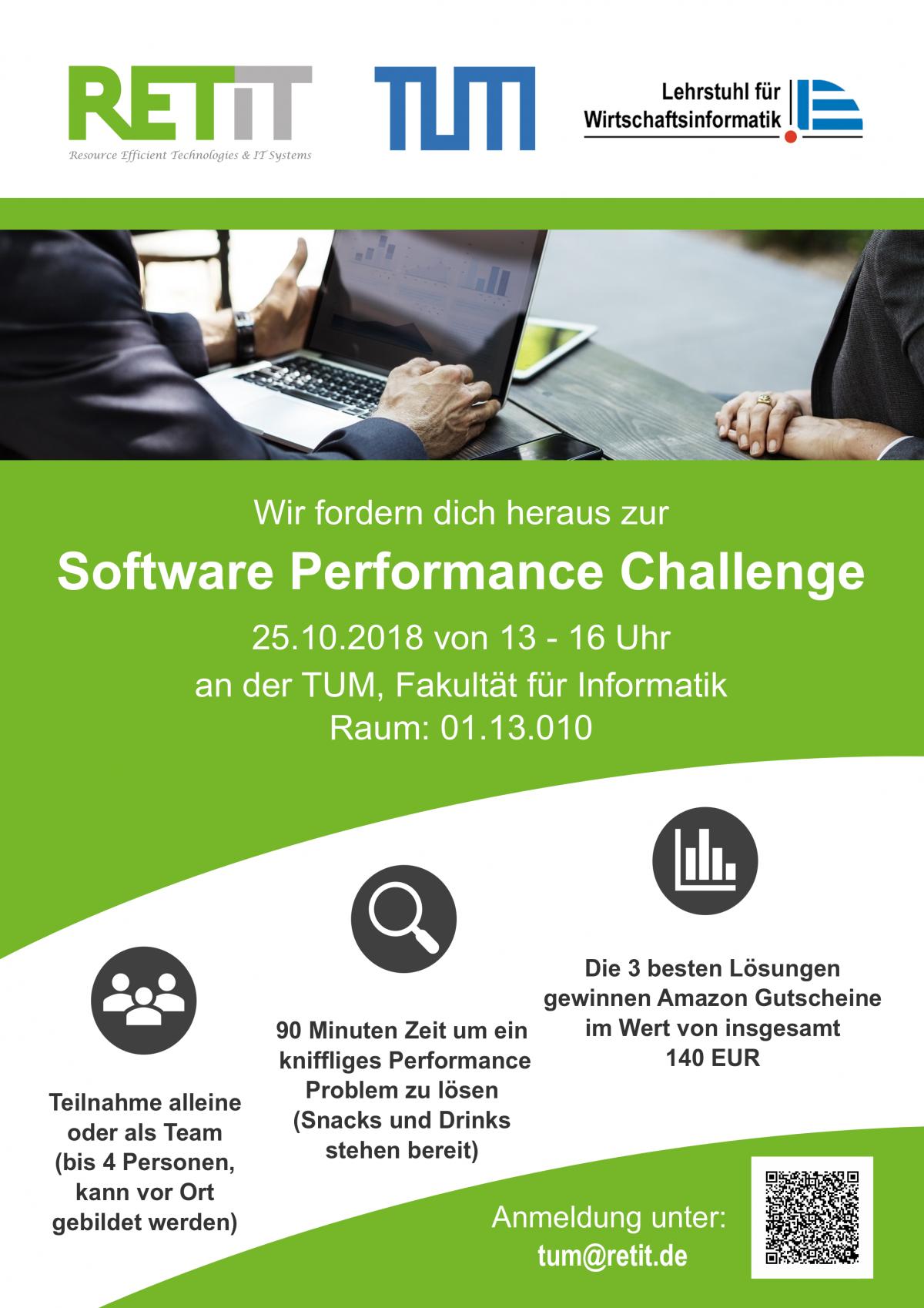 RETIT Software Performance Challenge @ Technische Universität München (TUM)