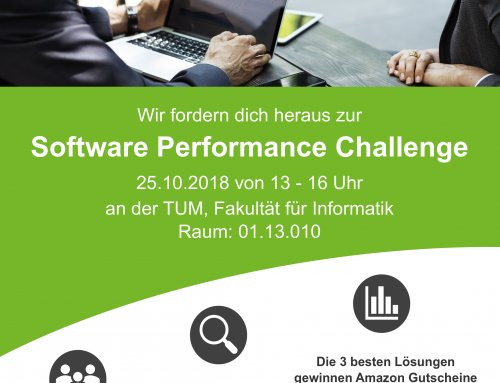 RETIT Software Performance Challenge @ Technische Universität München (TUM)
